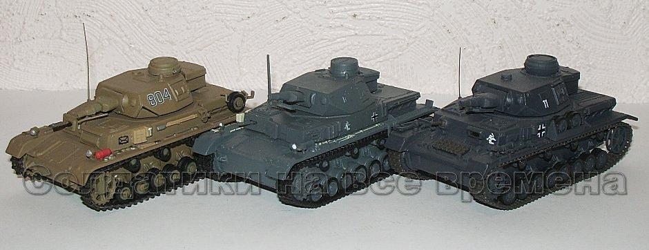 Танки Мира Коллекция №2 Pz. Kmpf. IV Ausf.F1 Немецкий средний танк