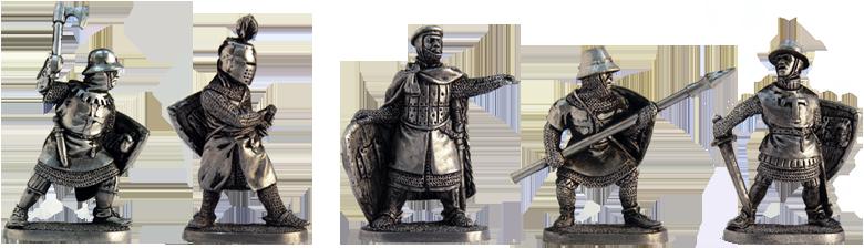 Четвёртый набор. Тевтонские рыцари. Ek-40knights